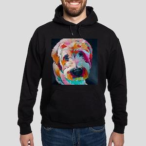 Wheaten Terrier Kirby Jane Hoodie (dark)