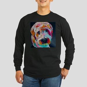 Wheaten Terrier Kirby Jane Long Sleeve T-Shirt