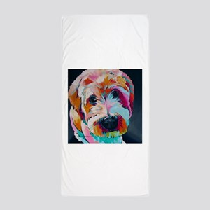Wheaten Terrier Kirby Jane Beach Towel