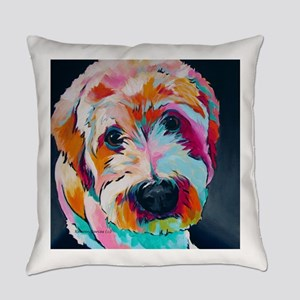 Wheaten Terrier Kirby Jane Everyday Pillow