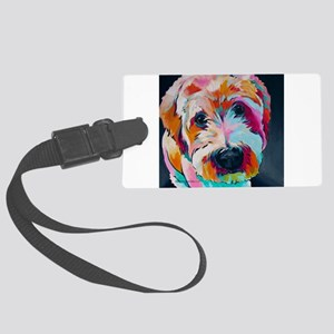 Wheaten Terrier Kirby Jane Large Luggage Tag