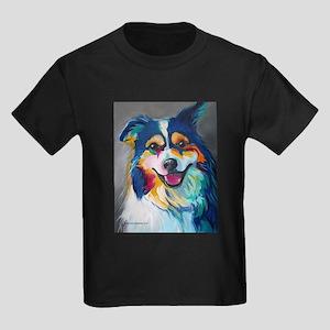 Maggie the Border Collie, Aussie, Australi T-Shirt