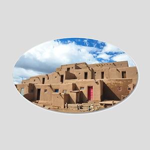 Taos Pueblo Wall Decal