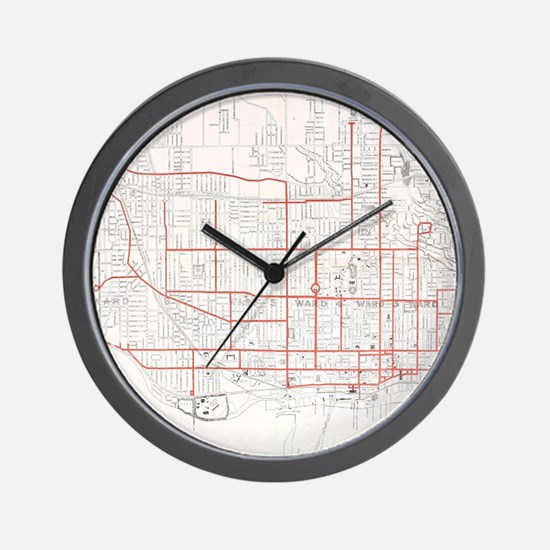Cute Toronto Wall Clock