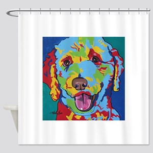 Charlie Brown The Doodle Shower Curtain