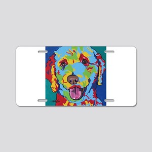 Charlie Brown The Doodle Aluminum License Plate