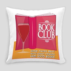 Wine Pairs Best Everyday Pillow
