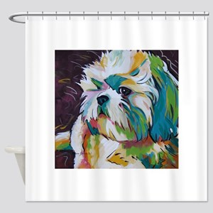 Shih Tzu - Grady Shower Curtain