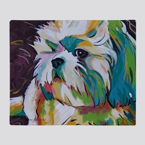 Shih Tzu - Grady Throw Blanket