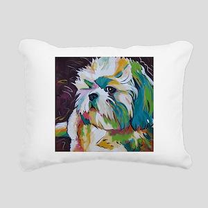 Shih Tzu - Grady Rectangular Canvas Pillow