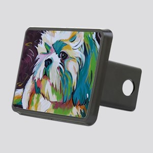 Shih Tzu - Grady Rectangular Hitch Cover