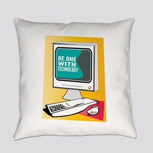 Be With Technology Everyday Pillow