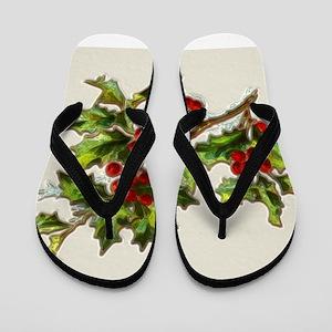 HollyBerries20150807 Flip Flops