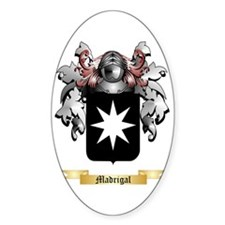 Madrigal Sticker (Oval)