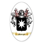 Madrigal Sticker (Oval 10 pk)