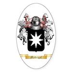 Madrigal Sticker (Oval 50 pk)