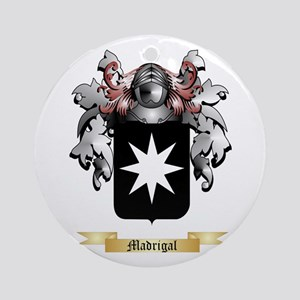Madrigal Round Ornament