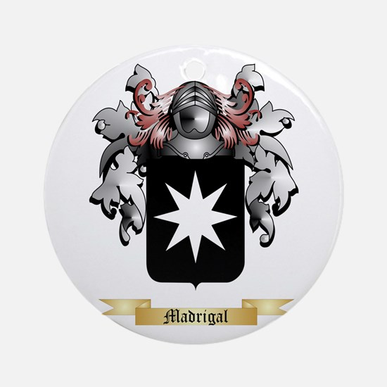 Madrigal Round Ornament
