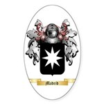 Madrid Sticker (Oval 10 pk)