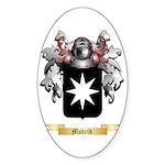 Madrid Sticker (Oval 50 pk)