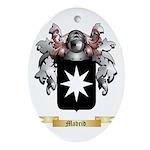 Madrid Oval Ornament