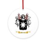 Madrid Round Ornament
