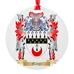 Madge Round Ornament