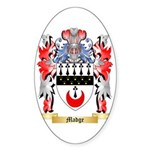 Madge Sticker (Oval)