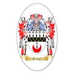 Madge Sticker (Oval 50 pk)