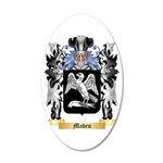 Maden 35x21 Oval Wall Decal