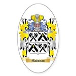 Maddison Sticker (Oval 50 pk)