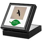 Flying Raven Keepsake Box