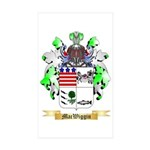 MacWiggin Sticker (Rectangle 50 pk)