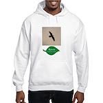 Flying Raven Hooded Sweatshirt