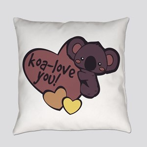 Koa-Love You Everyday Pillow