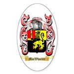 MacWhorter Sticker (Oval 10 pk)