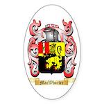 MacWhorter Sticker (Oval 50 pk)