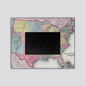 Us Map Picture Frame.Us Map Picture Frames Cafepress