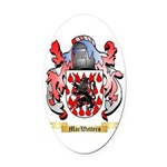 MacWatters Oval Car Magnet