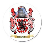 MacWatters Round Car Magnet