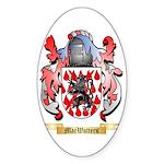 MacWatters Sticker (Oval 50 pk)