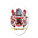 MacWatters 20x12 Oval Wall Decal