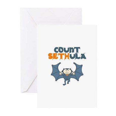 Count Sethula Greeting Cards (Pk of 10)