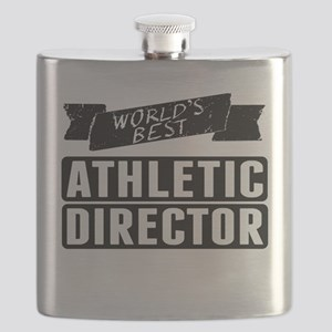Worlds Best Athletic Director Flask