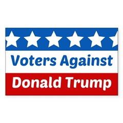 Voters Against Donald Trump Decal
