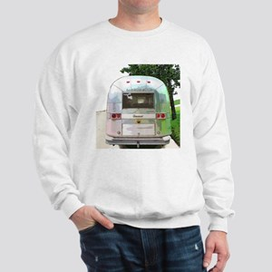 Vintage Airstream Pillow Sweatshirt