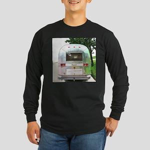 Vintage Airstream Pillow Long Sleeve T-Shirt