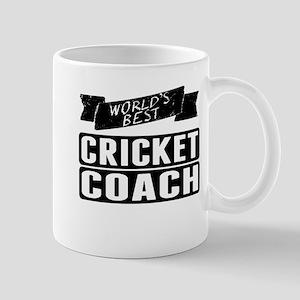 Worlds Best Cricket Coach Mugs