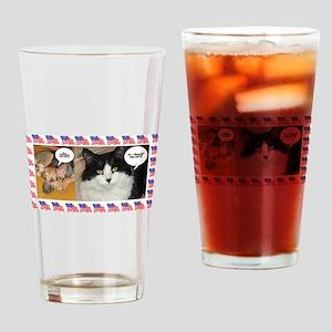Animal Politics Humor Drinking Glass