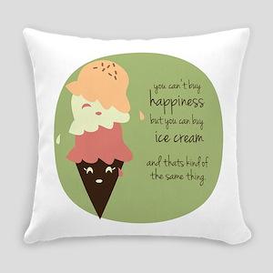 Buy Ice Cream Everyday Pillow